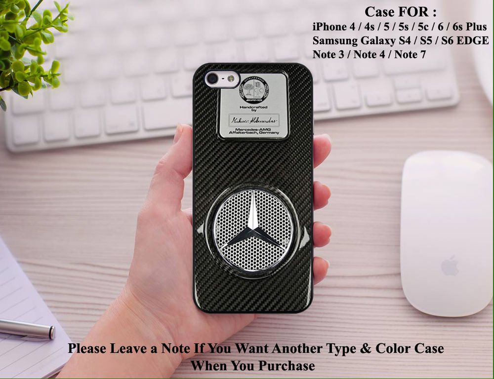 huge selection of 87f5f ad1ac New Mercedes AMG Logo Emblem Cover Case for Iphone 7 7Plus and ...