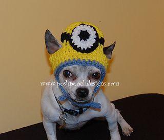 Minion hat for dogs crochet pattern 399 crochet pets minion hat for dogs crochet pattern 399 dt1010fo