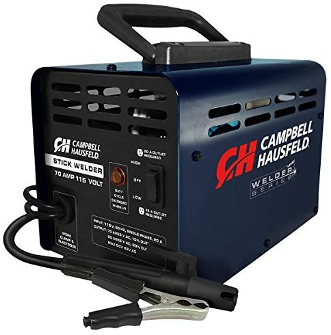 Arc Welder And Stick Welder 115v 70amp Campbell Hausfeld Ws099001av Arc Welders Welders Diy Welding