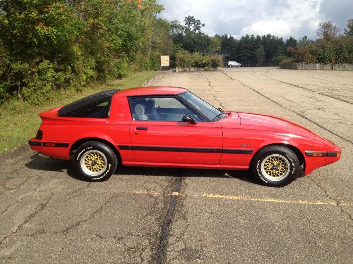mazda rx7 1985. hemmings find of the day u2013 1985 mazda rx7 imsa edit rx7 t
