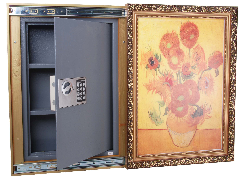 Rohs Approval Painting Frame Hidden Wall Safe View Hidden Wall