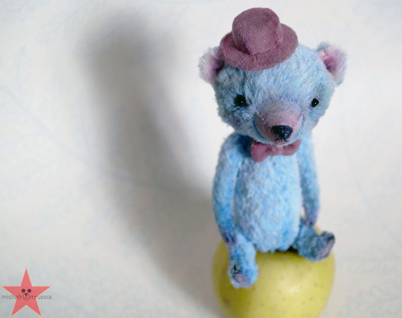 SOLD Artist teddy bear OOAK 6 inch tall от mishafromrussia на Etsy