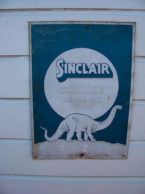 Vintage Sinclair Sign #sinclair #sign