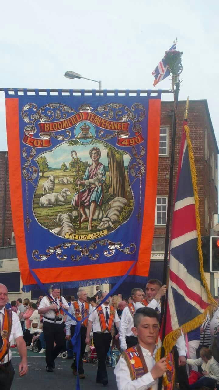 Broomfield temperance lol 490 banner orange order
