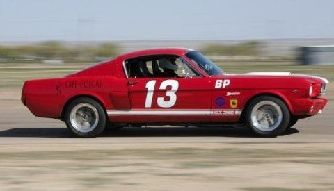 Ford Mustang Fastback Race Car On Track Virtual Car Show