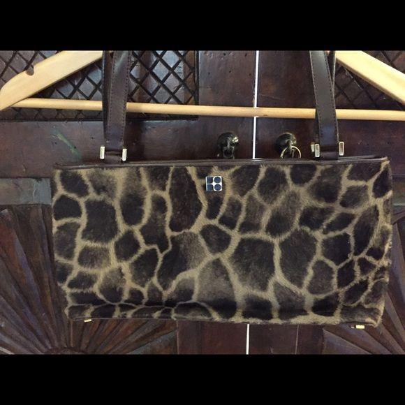 Kate spade handbag Giraffe print Kate spade handbag suede inside kate spade Bags Shoulder Bags