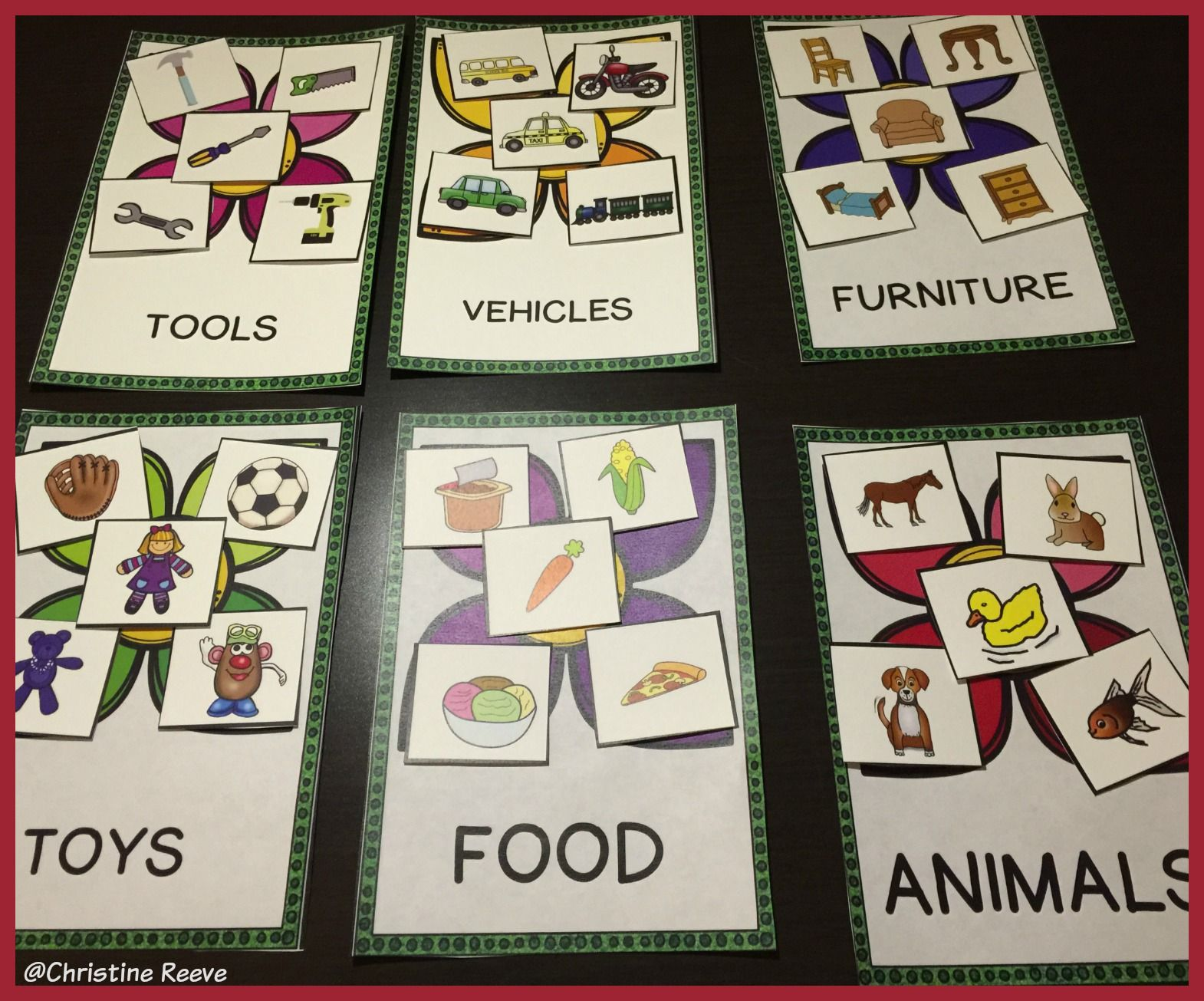 Spring Receptive Vocabulary Activities For Practicing