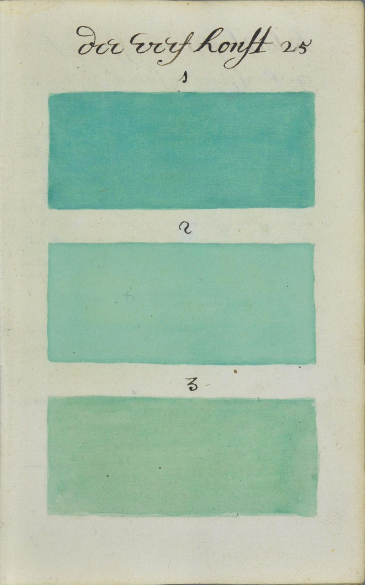graphic Years Before Pantone an Artist Mixed and