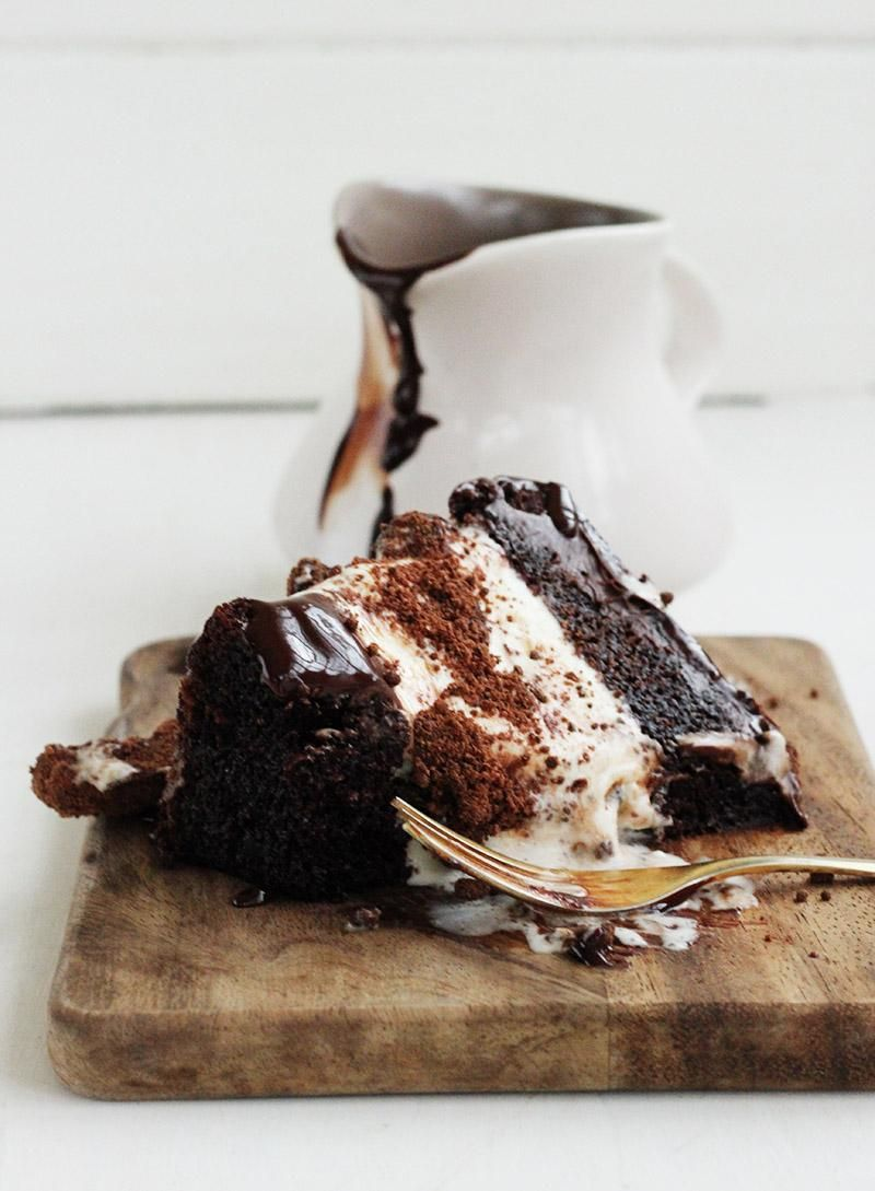 Chocolate Milo Ice Cream Cake
