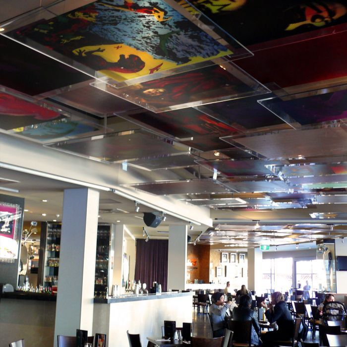 6fb097459 Hard Rock Cafe - Graphic Ceiling Panels - Sydney