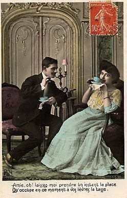 Old time tea time.