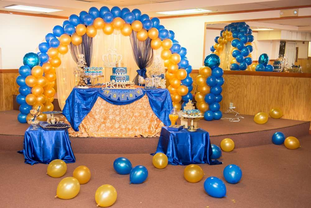 Prince Birthday Party Ideas | Photo 8 of 15 | Catch My Party