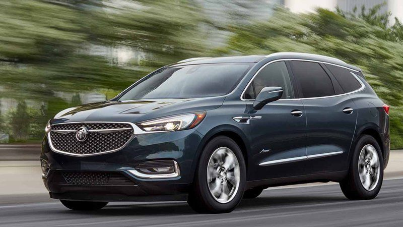 A Crossover In More Ways Than One The Buick Enclave Is Part Car Part Truck Part Luxury Part Mainstream And Part Chevrol Buick Envision Buick Enclave Buick