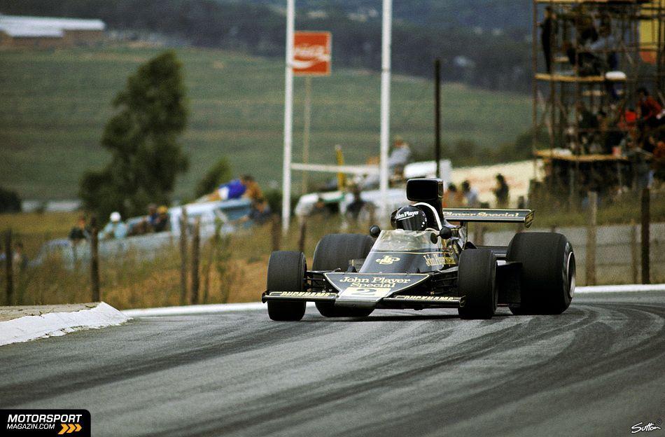 Jacky Ickx - 1974 Lotus at Kyalami