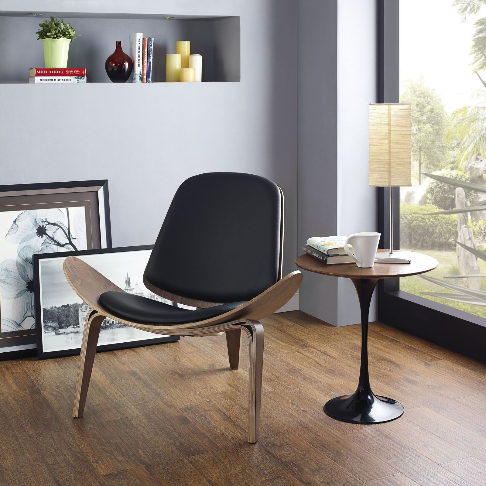 hans_j._wegner_shell_chair_ch07_black.jpg (1600×1600)