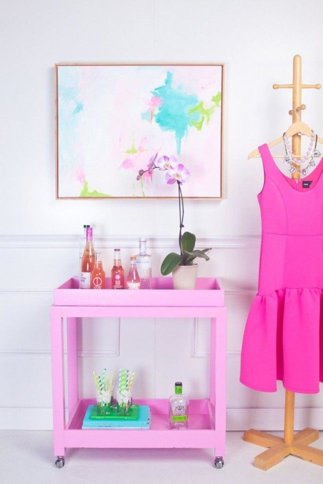 13 Essentials for a Chic At-Home Coffee Cart | Bar carts, Living ...