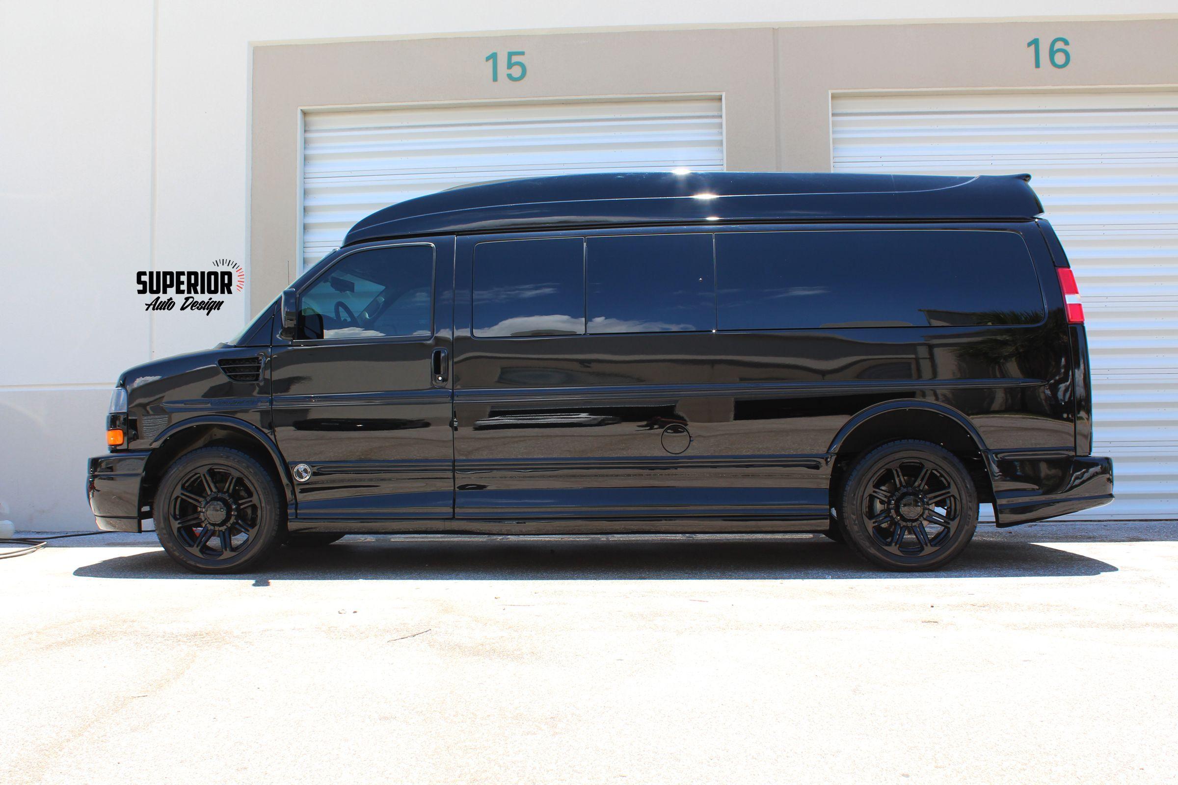 Black Conversion Vans