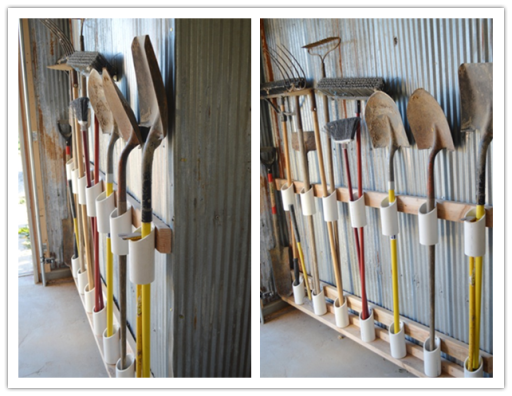 How To Organize Garden Tools In Garage Or Storage Unit Diy Tag