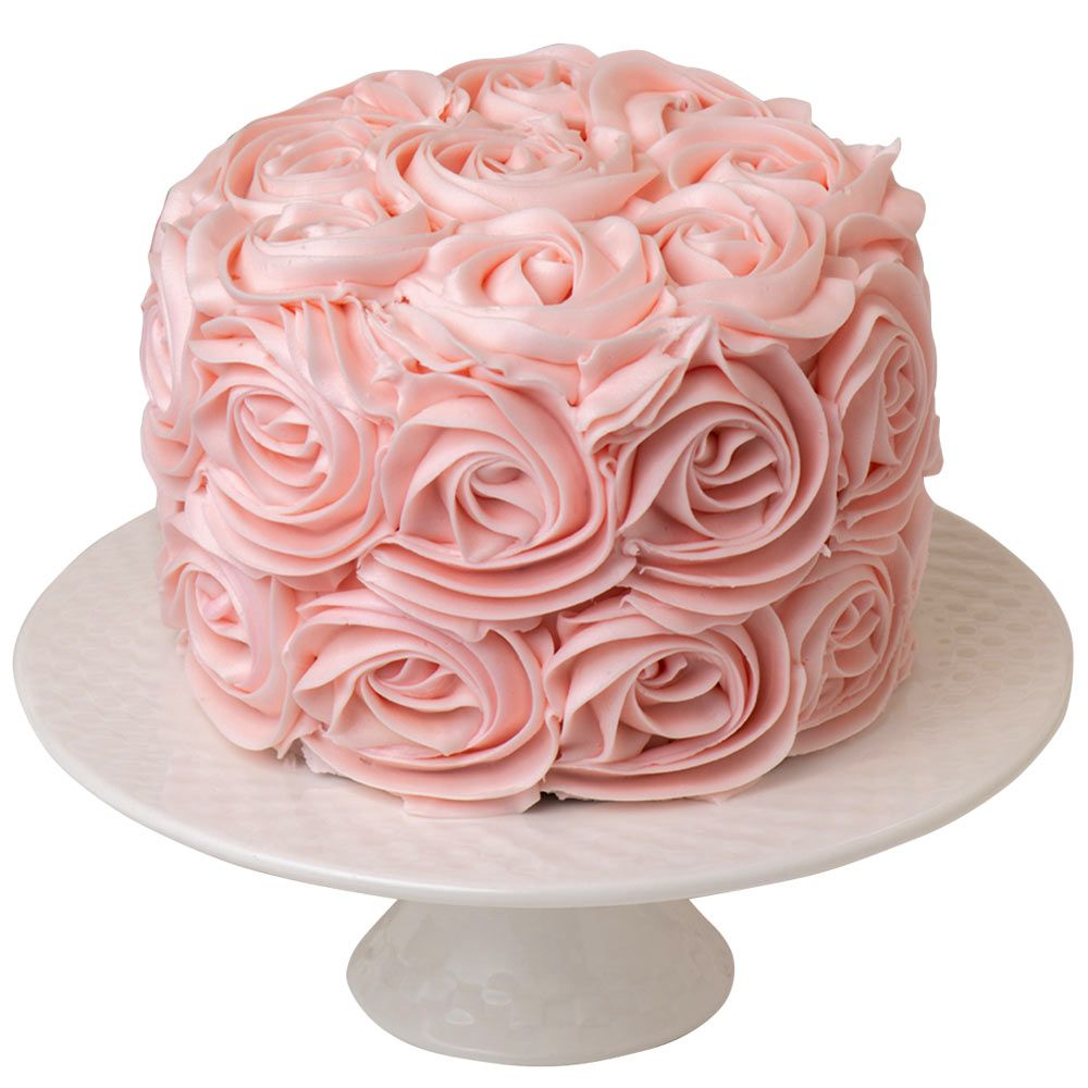 Superb 6 Pink Rose Chocolate Layer Cake In 2020 Pink Rose Cake Funny Birthday Cards Online Elaedamsfinfo