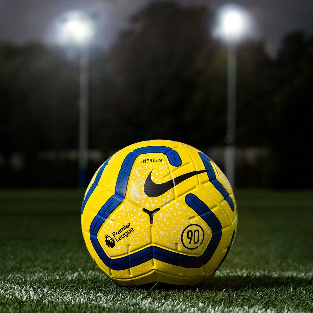 Premier League On Instagram Ready For Winter The New Nikefootball Hi Vis Merlin Match Ball Is Making Its Debut Tonight Premier League League Ball