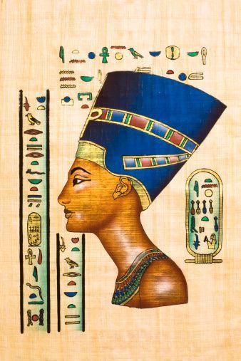 Ancient 10 Card Tarot Spread Mat: Ten Facts About Ancient Egypt