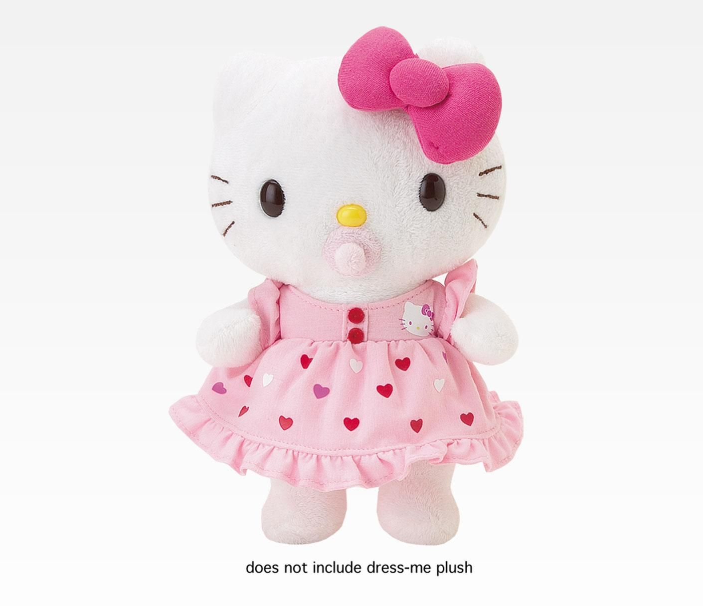 hello kitty ruffled baby romper dress me sanrio plush pinterest hello kitty kitty and plush. Black Bedroom Furniture Sets. Home Design Ideas