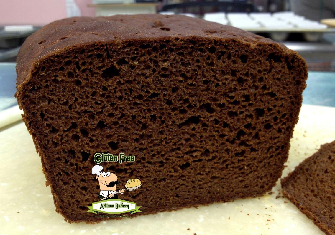 Fresh baked Gluten Free Pumpernickel Bread...