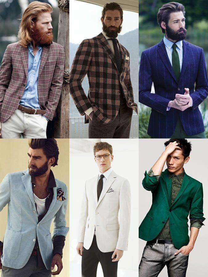 Men's Formal Fashion Basics: Blazers/Sport Coats Lookbook ...