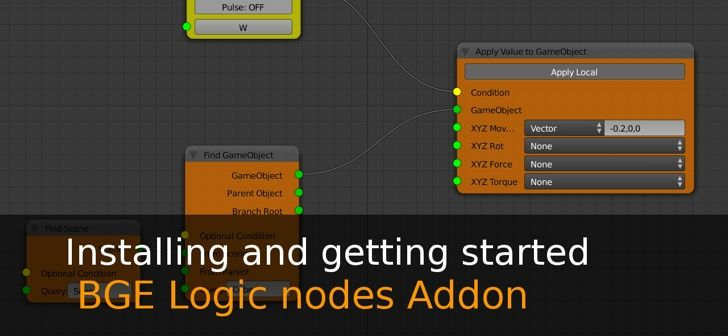 Logic Nodes Addon (Installing and getting started