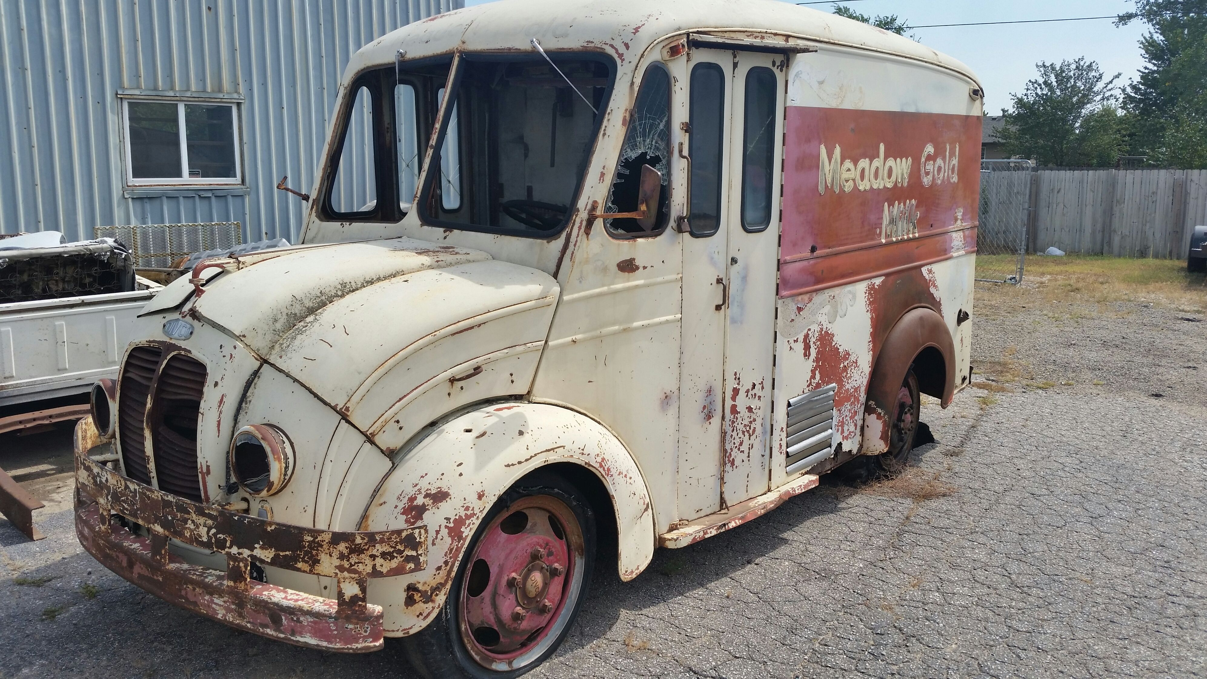 Here is a 1955 Divco Truck that is for sale at www motorn com  Check