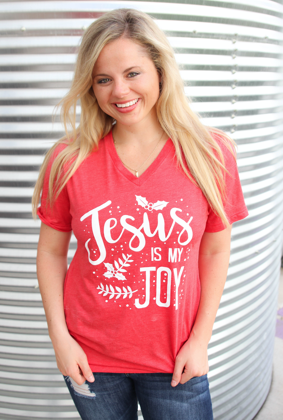 Jesus is My Joy (Heather Red) - Short Sleeve | Products | Pinterest ...