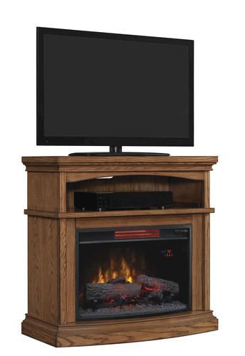 Midway Tv Stand For Tvs Up To 40 With 25 Curved Infrared Quartz