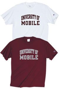 Champion Products University Of Mobile T Shirt University Of