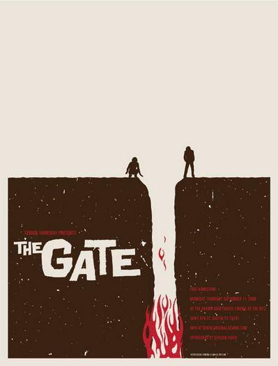 poster gate pelicula