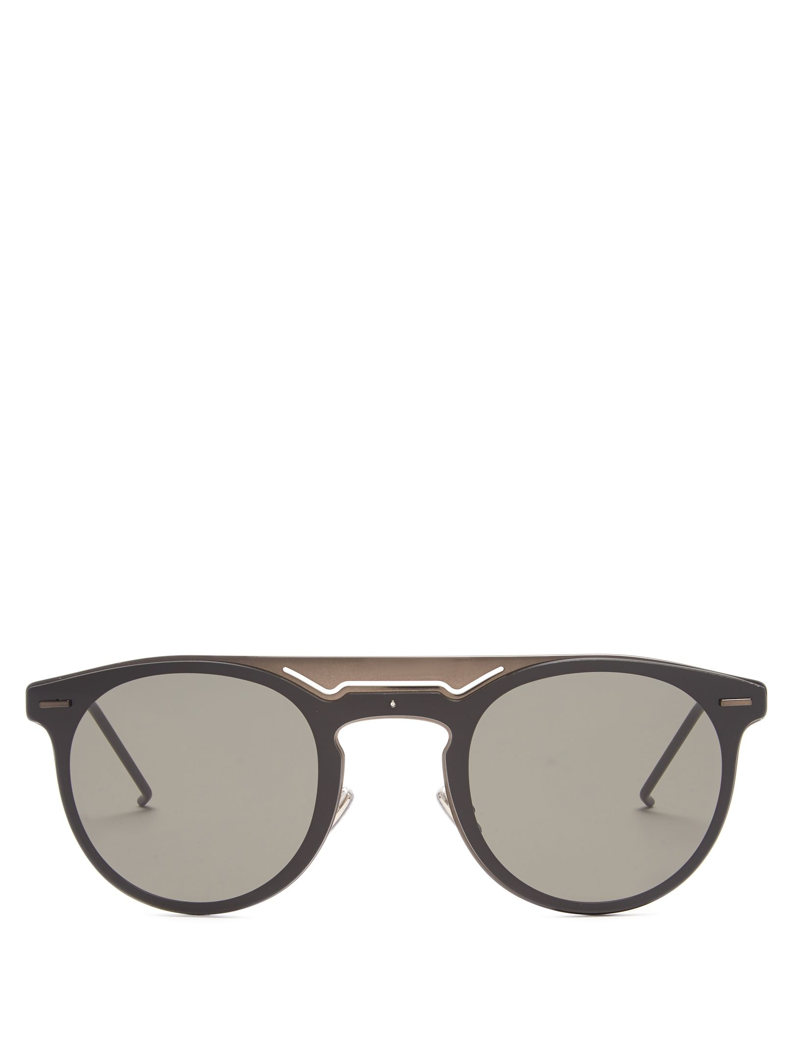 Click here to buy Dior Homme Sunglasses Dior0211S round-frame ...