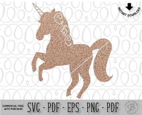 Unicorn SVG, Unicorn Silhouette svg, Unicorn Clipart