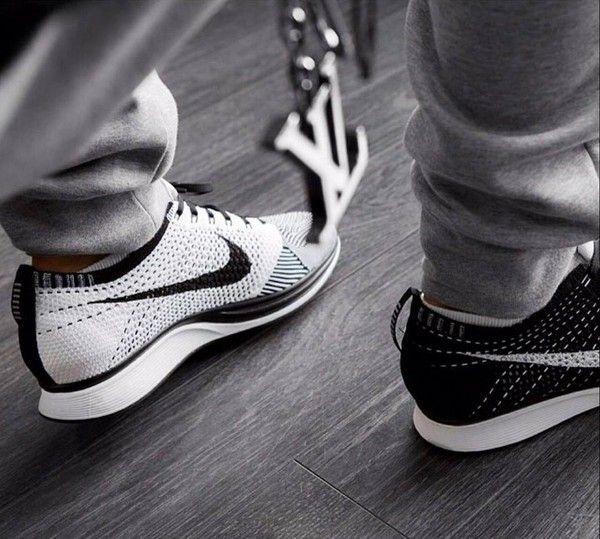 69dc6ac30825 Shoes  black white nike flyknit racers nike flyknit nike sportswear ...