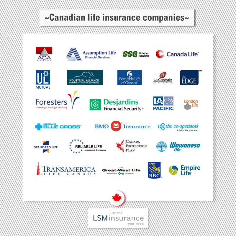 Canadian Life Insurance Companies Life insurance