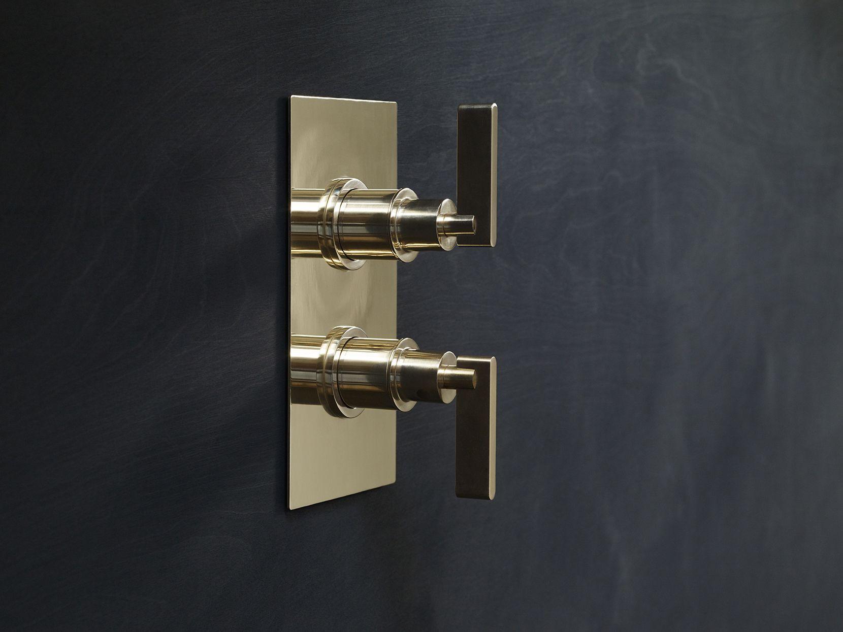 Shower Thermostat Shower diverter, Master shower