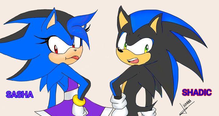 Dibujos Editando Sonadow Sonadow Familia Las Hermanas Hedgehog Dibujos Peliculas De Terror Shadow Sonic