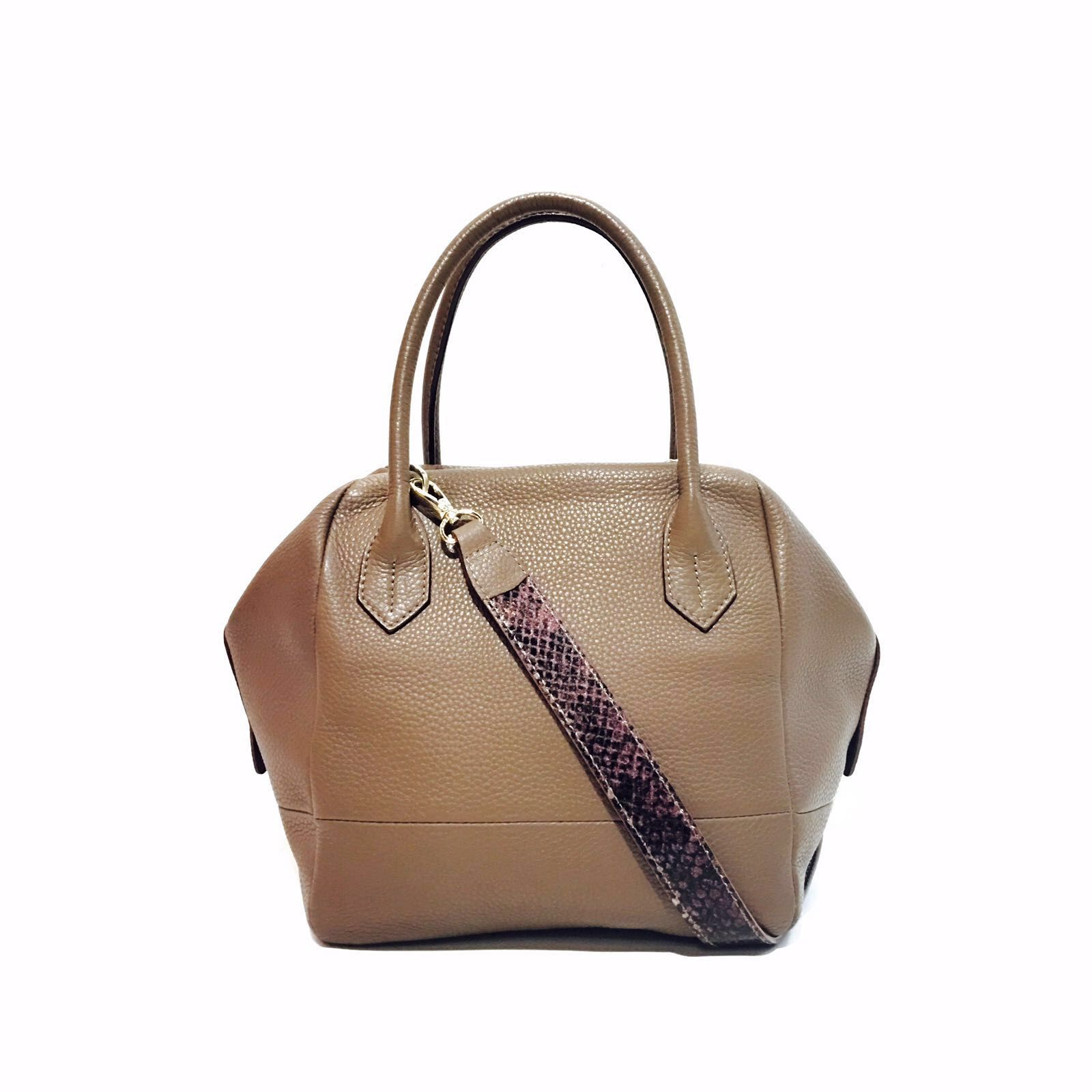 Boxy satchel
