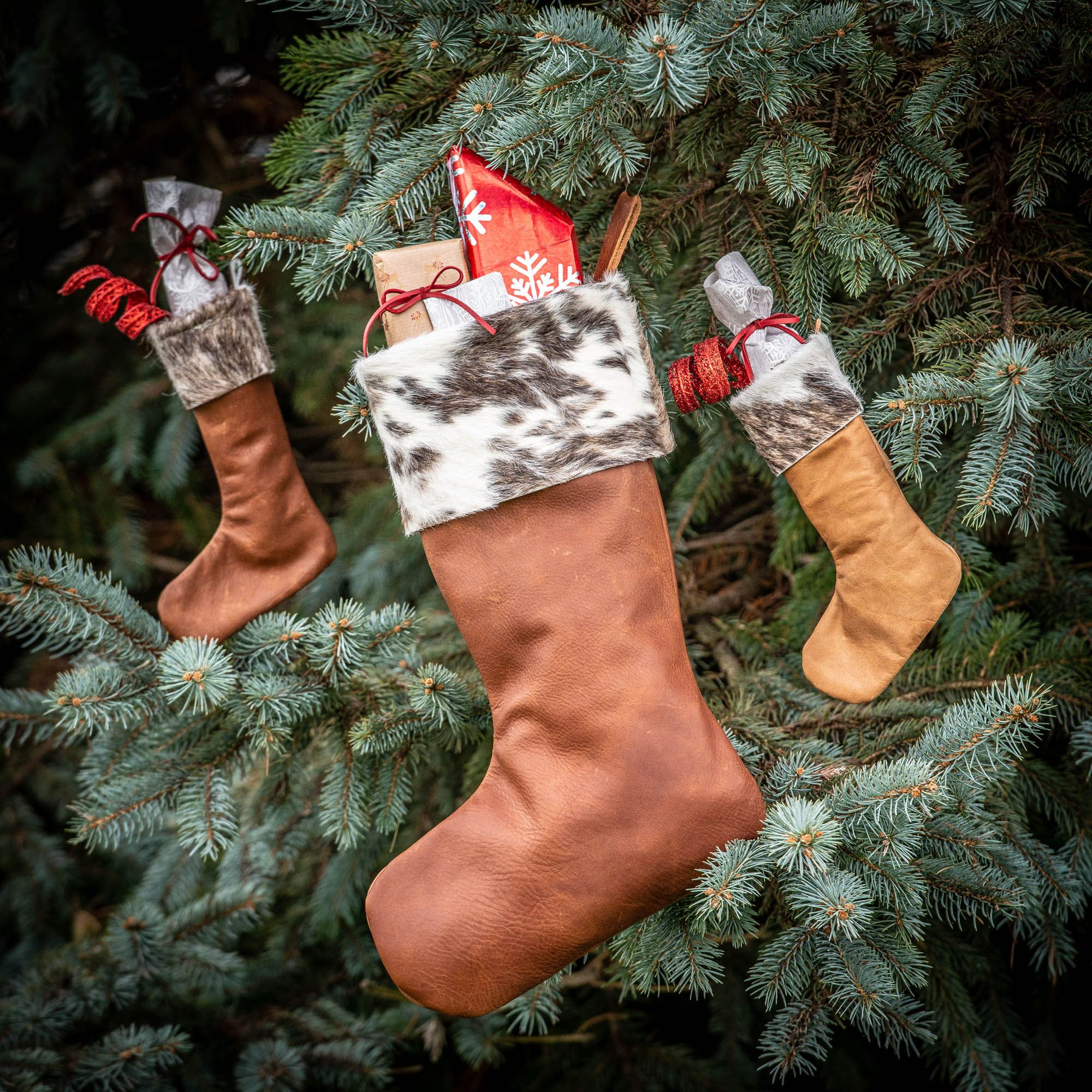 Making A Leather Stocking Weaver Leather Craft Supply Blog Christmas Stockings Diy Sewing Leather Leather Working Patterns