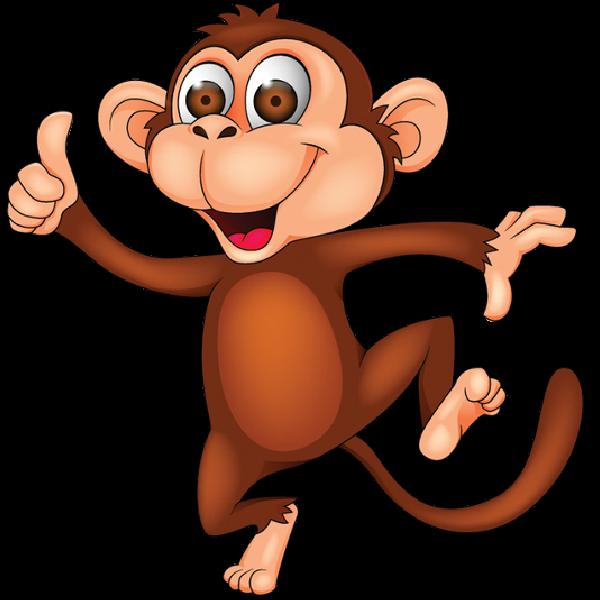 Cartoon Monkey Image 15 Png 600 600 Cartoon Monkey Cartoons Dancing Monkey Dance