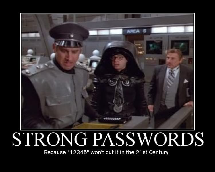 Image result for spaceballs password meme