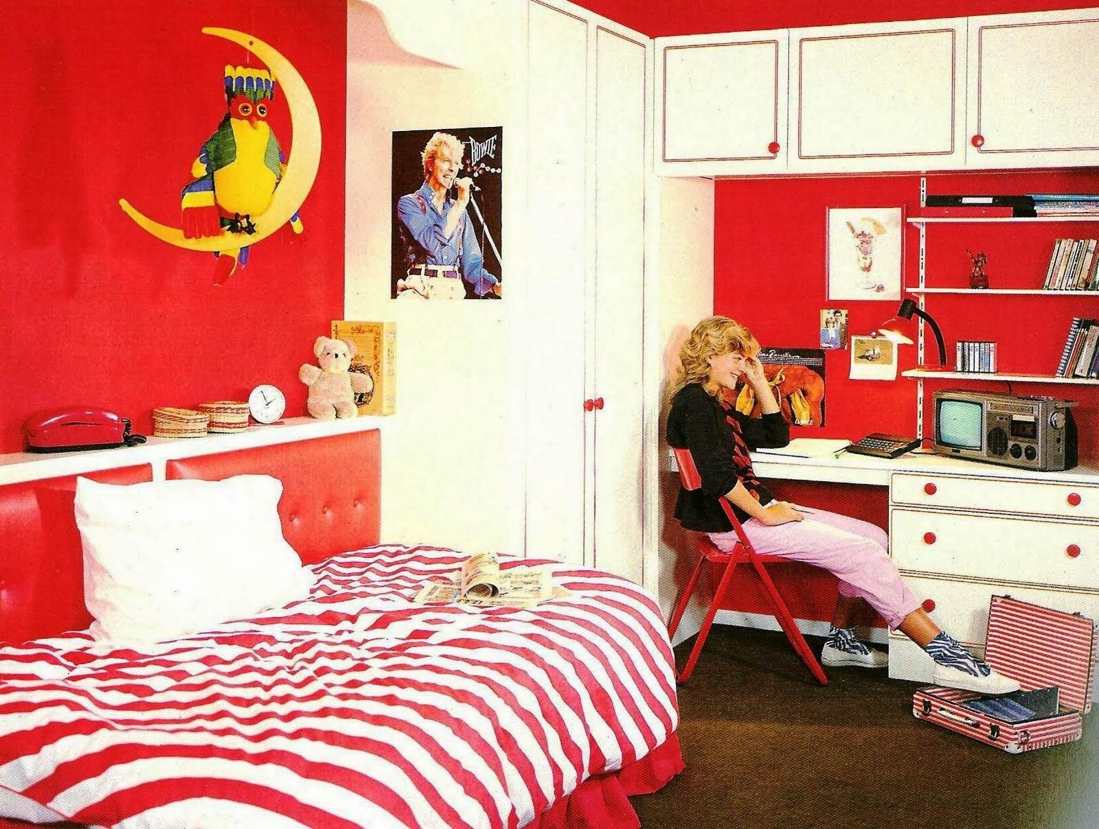 1980S Bedroom  Mine Was Pink