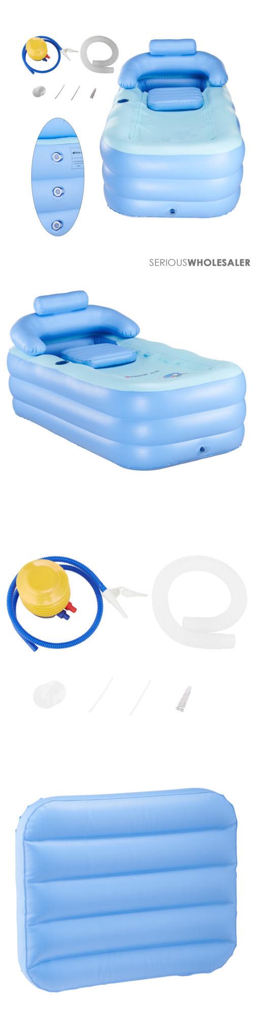 Bathtubs 42025: Inflatable Adult Pvc Folding Portable Blow Up ...