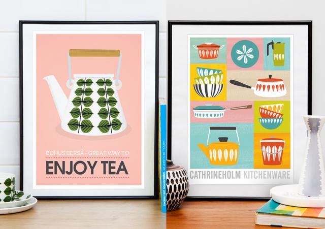 Affiche Cuisine Retro On Vous Dit Ou En Trouver Affiches Retro