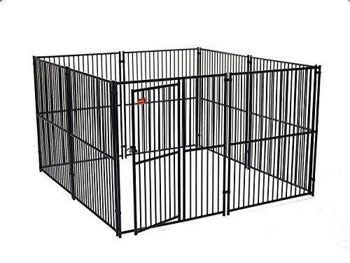 Dog Kennel Lucky Dog Modular Box Kennel This Welded A Https Www Amazon Com Dp B00e3t0ttq Ref Cm Dog Kennel Panels Dog Kennel Outdoor Metal Dog Kennel