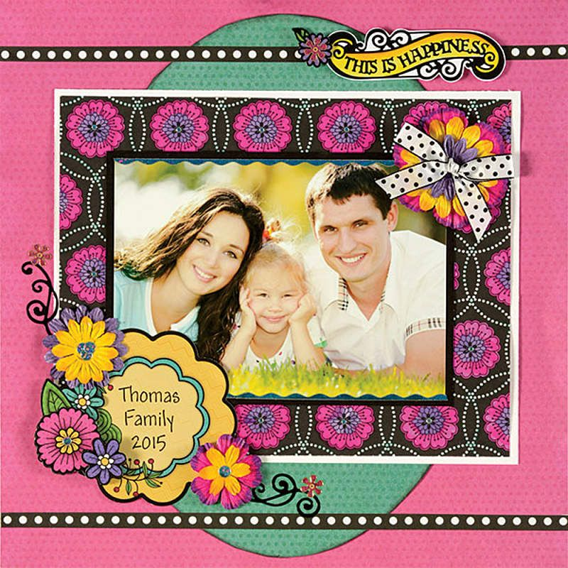Colorists Double-Sided Scrapbooking Papers by Hot Off The Press Inc (4104251)
