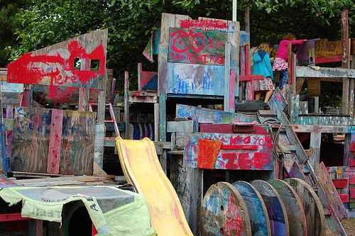 Adventure Playground: Berkeley, CA.  I went here when I was a kid and it was magical.